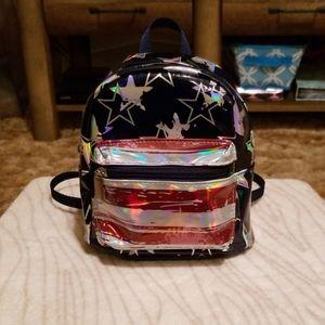 Claire's Americana Flag Mini Backpack Purse
